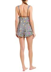 Betsey Johnson Babe 2Pc Pajama Short Set