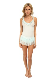 Betsey Johnson Ballerina Shorts Set