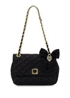 Betsey Johnson Be Mine Quilted Shoulder Bag