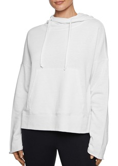 Betsey Johnson Bell-Sleeve Hooded Sweatshirt