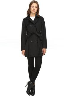 Betsey Johnson Belted Raincoat