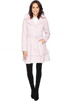 Betsey Johnson Belted Wool Coat