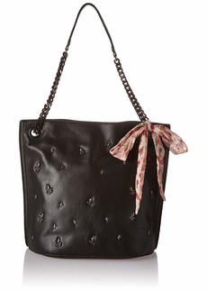 Betsey Johnson Best Buds Hobo Bag