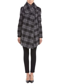 Betsey Johnson Betsey Johnson Brushed Plaid Dra...
