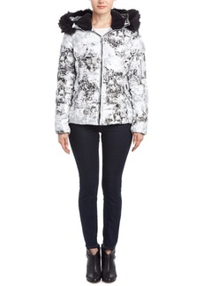 Betsey Johnson Betsey Johnson Marble Hooded Dow...