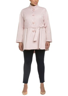 Betsey Johnson Betsey Johnson Plus Trench Coat