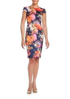Betsey Johnson Blazing Blooms Dress