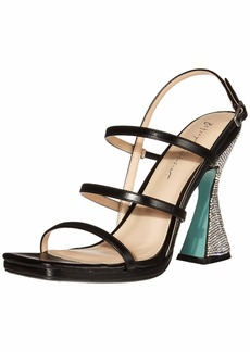 Blue by Betsey Johnson Women's SB-Pacey Heeled Sandal