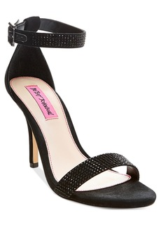 Betsey Johnson Brodway Two-Piece Dress Sandals Women's Shoes