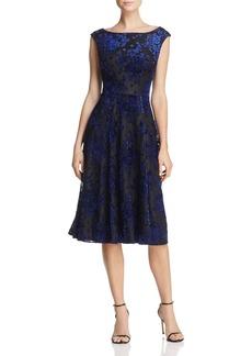 Betsey Johnson Burnout Velvet Dress