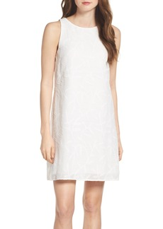 Betsey Johnson Clipped Jacquard Shift Dress