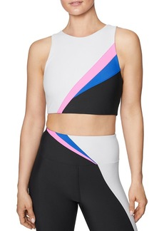 Betsey Johnson Color-Block Sports Bra