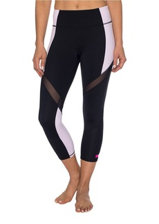BETSEY JOHNSON Colorblock Crop Legging