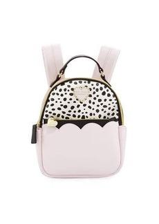 Betsey Johnson Colorblock Zip-Around Mini Backpack