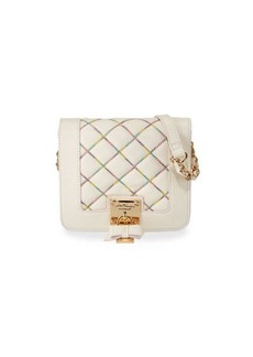 Betsey Johnson Cotton Candy Quilted Crossbody Bag