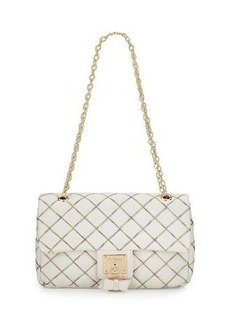 Betsey Johnson Cotton Candy Quilted Shoulder Bag