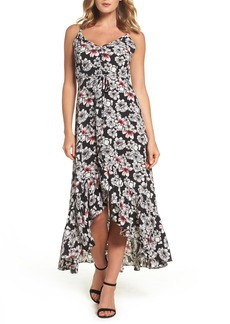 Betsey Johnson Crepe Maxi Dress