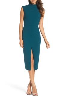 Betsey Johnson Crepe Midi Dress