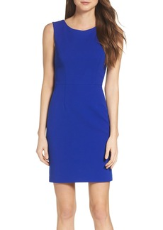 Betsey Johnson Crepe Sheath Dress