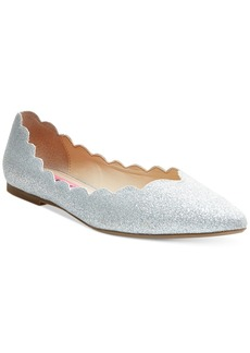 Betsey Johnson Crosbey Scalloped Flats Women's Shoes