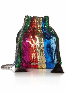 Betsey Johnson Drawstring Pouch Bag