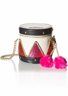Betsey Johnson Drummer Boy Bag
