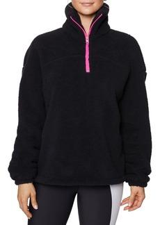 Betsey Johnson Cozy Fleece Pullover