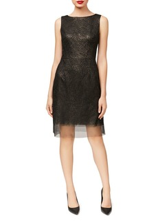 Betsey Johnson Embroidered Sheath Dress