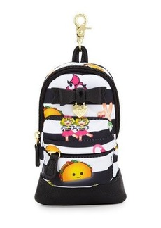 Betsey Johnson Emoji Backpack Pencil Case