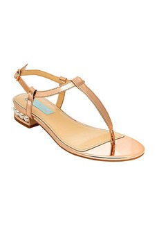 """Betsey Johnson® """"Evie"""" T Strap Thong Sandals"""