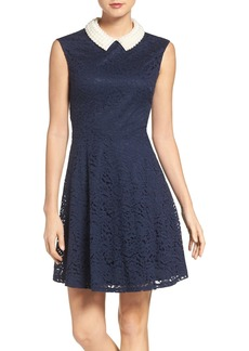 Betsey Johnson Imitation Pearl & Lace Dress