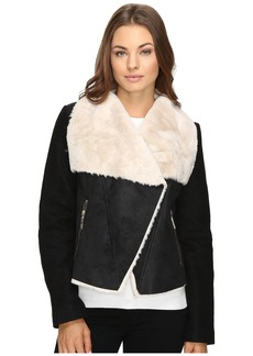 Betsey Johnson Faux Shearling Jacket