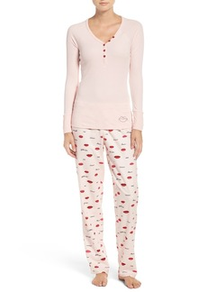 Betsey Johnson Flannel Pajamas