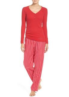 Betsey Johnson Flannel Pajamas