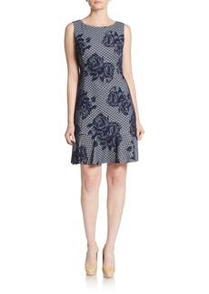 Betsey Johnson Floral A-Line Dress