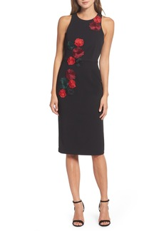 Betsey Johnson Floral Midi Dress