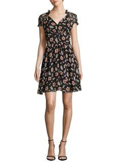 Betsey Johnson Floral Mini Dress