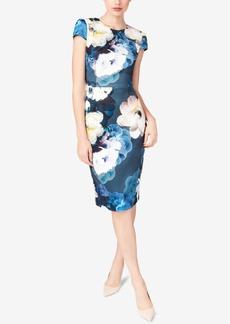 Betsey Johnson Floral-Print Scuba Dress