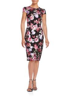 BETSEY JOHNSON Floral Shift Dress
