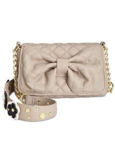Betsey Johnson Floral Shoulder Bag, Only At Macy's