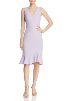Betsey Johnson Flounced-Hem Dress