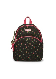 Betsey Johnson Forbibben Fruit Canvas Backpack