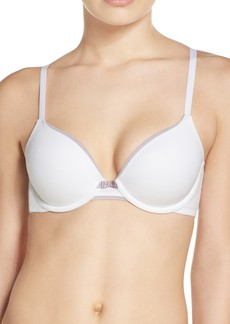 Betsey Johnson Forever Perfect Stretch Cotton Underwire Demi Bra
