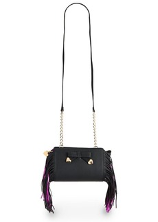 Betsey Johnson Fringe Crossbody Bag