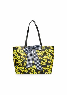 Betsey Johnson Fruity Florals Tote with Bow
