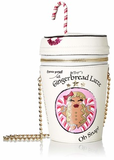 Betsey Johnson Gingerbread Latte Bag   One Size
