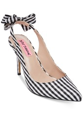 Betsey Johnson Ginjer Slingback Pumps Women's Shoes