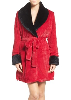 Betsey Johnson Glamour Short Robe
