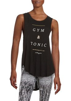 BETSEY JOHNSON Gym and Tonic Tank