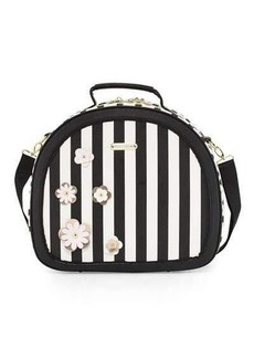 Betsey Johnson Hat Box Round Weekender Bag